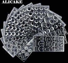 ALICAKE - Moule chocolat polycarbonate 3D pour