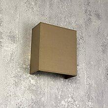 ALICE Applique murale carrée pour intérieur avec