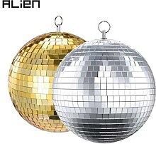 ALIEN – boule Disco en verre argenté, effet