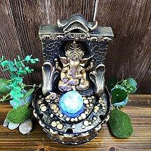 Alinory Fontaine de Table, décoration de Bouddha,