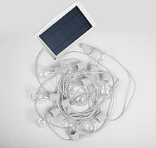 ALLEGRA-Guirlande lumineuse solaire & rechargeable