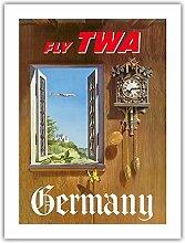 Allemagne - Volez TWA (Trans World Airlines) -
