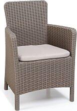 Allibert Chaise de salle à manger de jardin