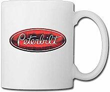 ALLWEKNOW Peterbilt Logo tasse à café tasse à