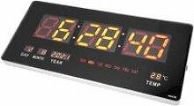 Alomejor Réveil Horloge Numérique LED Horloge
