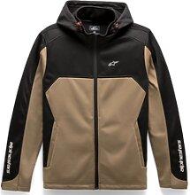 Alpinestars Strat-X, veste en textile - Beige/Noir