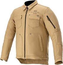 Alpinestars Trucker, veste en textile - Beige - XL