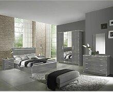 Altobuy - NAKTAM - Chambre Complète 160x200cm