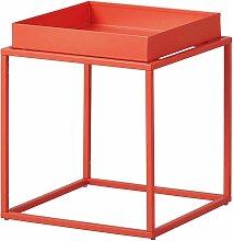 Altobuy - STACIO - Table d'Appoint Carrée