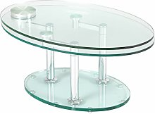 Altobuy - VIVIA - Table Basse Ovale