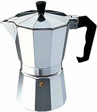 Aluminium Moka Pot Octangle Machine à café Pour