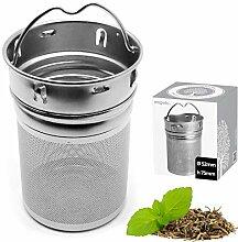 amapodo Filtre à thé pour thé en vrac - Tamis