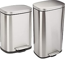 Amazon Basics C-10074FM-30L trash can, 30L &