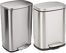 Amazon Basics C-10074FM-50L trash can, 50L &