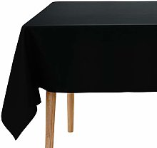 Amazon Brand - Umi Nappe Noir Rectangulaire