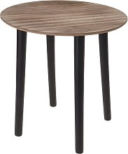 Ambiance Table d'appoint 40x40 cm MDF