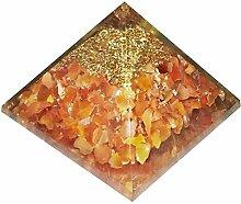 Ambre de la Baltique Orgonite Orgone Pyramid