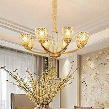Américain Minimaliste All-cuivre Lampes