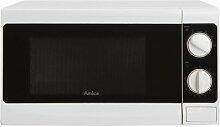 Amica 1103020 Micro-Onde, Acier INOX
