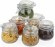 Amisglass Conservation des Aliments, Bocal en