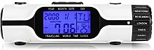 AMONIDA Horloge Mondiale, écran LCD léger avec