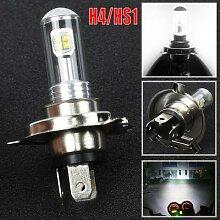 Ampoule de phare de moto H4 / HS1 12V 40W 8 LED