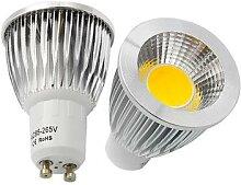 Ampoule de projecteur COB GU10 9W 12W 15W, ampoule