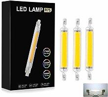 Ampoule LED 10W R7S 78 mm à LED COB Slim Double