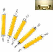 Ampoule LED 20W R7S 118 mm à LED COB Slim Double