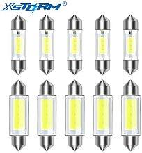Ampoule LED C5W C10W Canbus 31mm 36mm 39mm 41mm,