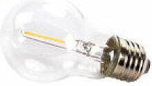 Ampoule LED E27 transparente à filaments / 0,5W -