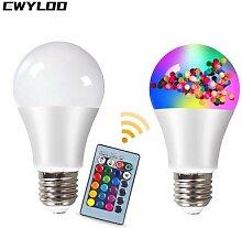 Ampoule LED RGBW intérieur et extérieur,