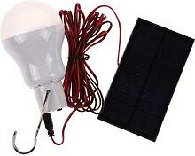 Ampoule solaire suspendue, imperméable,