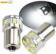 Ampoules LED 1156 BA15S R5W, clignotant, feu de