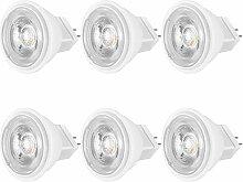 Ampoules LED MR11 GU4 12V DC / AC, 4W Équivalent