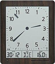 AMS 5893Digital Horloge murale radio-pilotée