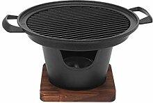 Amusingtao Mini barbecue de table au charbon de