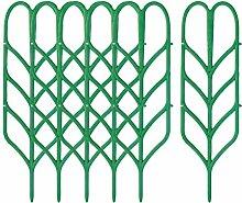 Amuzocity 6pcs Support de Plante en Plastique
