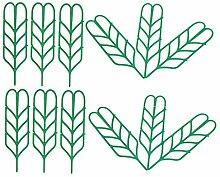 Amuzocity Support de Vignes Végétales 12 Pièces