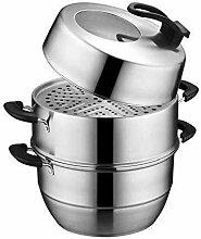AMYZ Ensemble de casseroles de Cuisson à Vapeur
