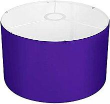 Amzbeauty Abat-jour violet unique, moderne pour