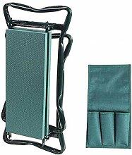ANBAI Chaise de Jardin Pliante Portable 2 en 1 à