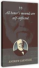 Andrew Carnegie Posters classiques avec citations