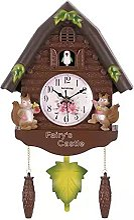 Angle&H Pendule Coucou, Horloge à Quartz