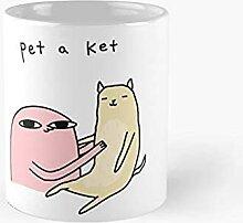 Animal de compagnie une tasse classique ket