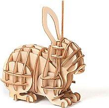 Animal Jouets 3D Bois Puzzle Jouet Jouet