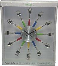 anitex YGZ-1026-Horloge de Cuisine en Plastique