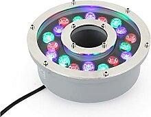 Anneau de Lumière LED pour Fontaine, Lumières de