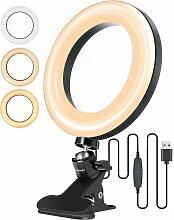 Anneau Lumineux LED, 6' Ring Light Lumière de