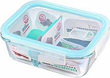 Annfly Boîtes alimentaires hermétiques en verre